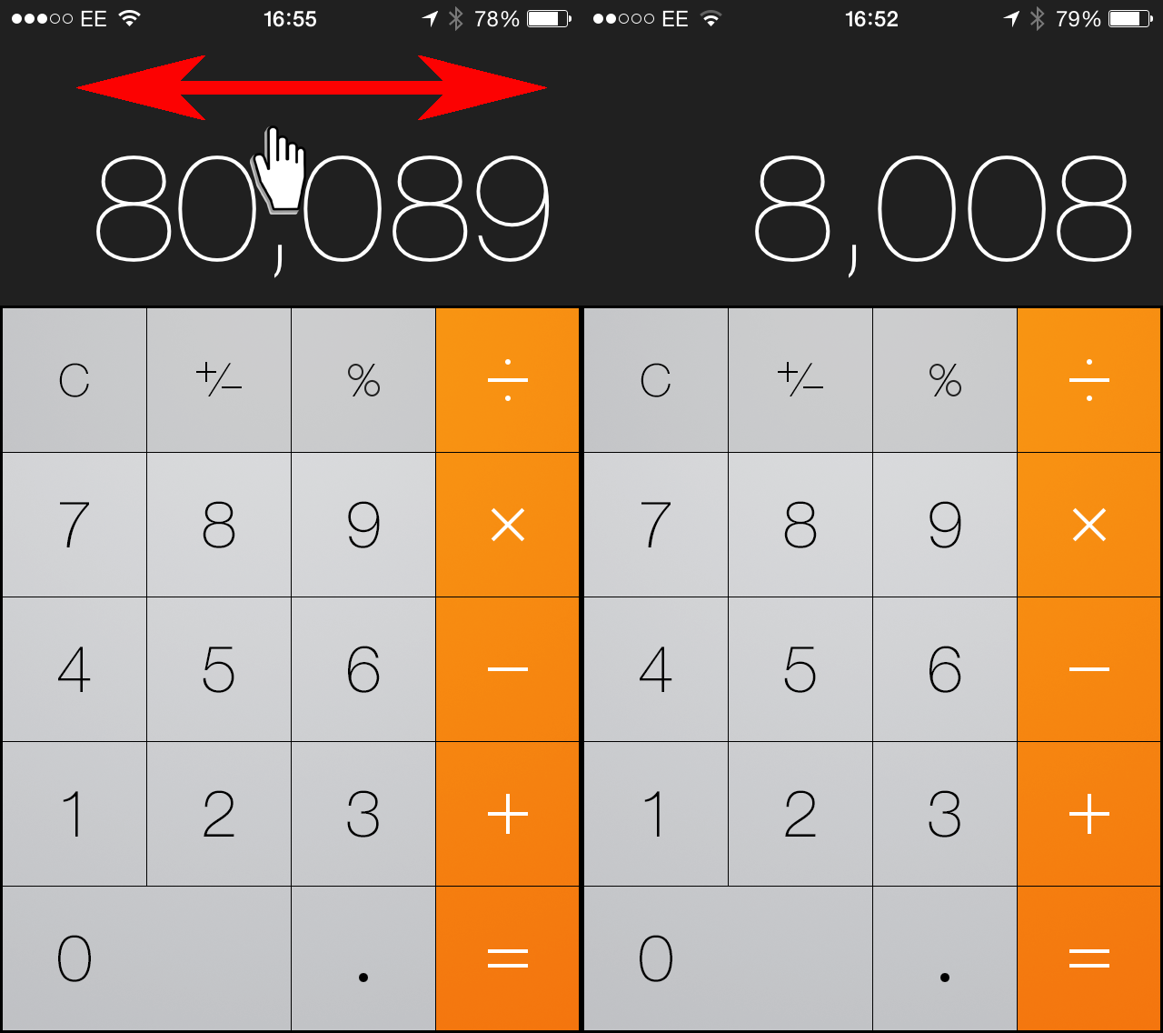Iphone Ipad Tips Tricks Calculator Music Maps And Keyboard