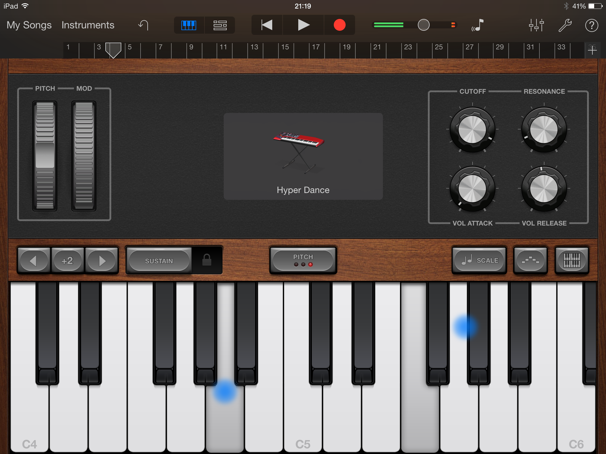 Review Garageband Ipad Garageband Keyboard