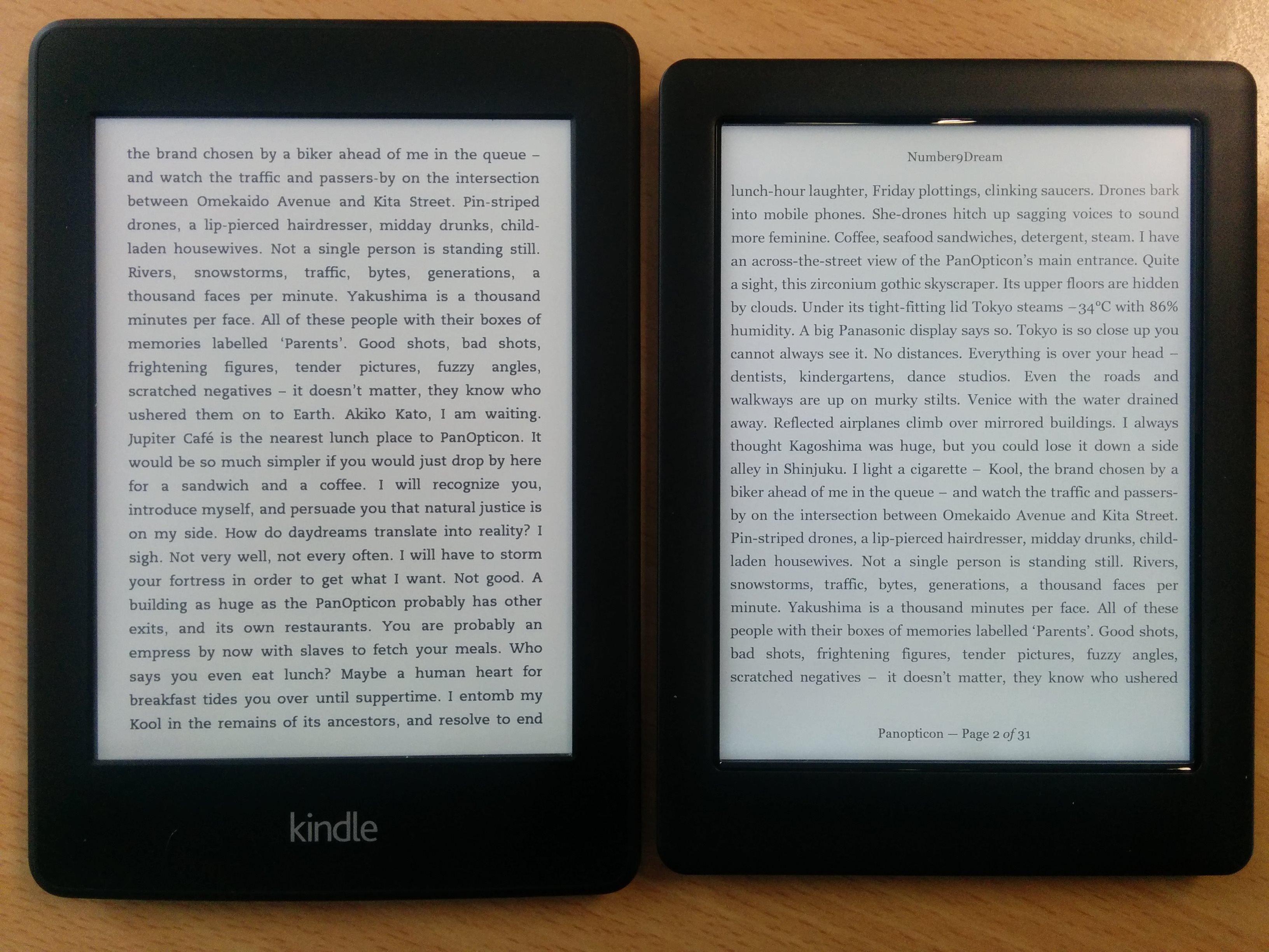 Kobo vs Kindle - www hardwarezone com sg