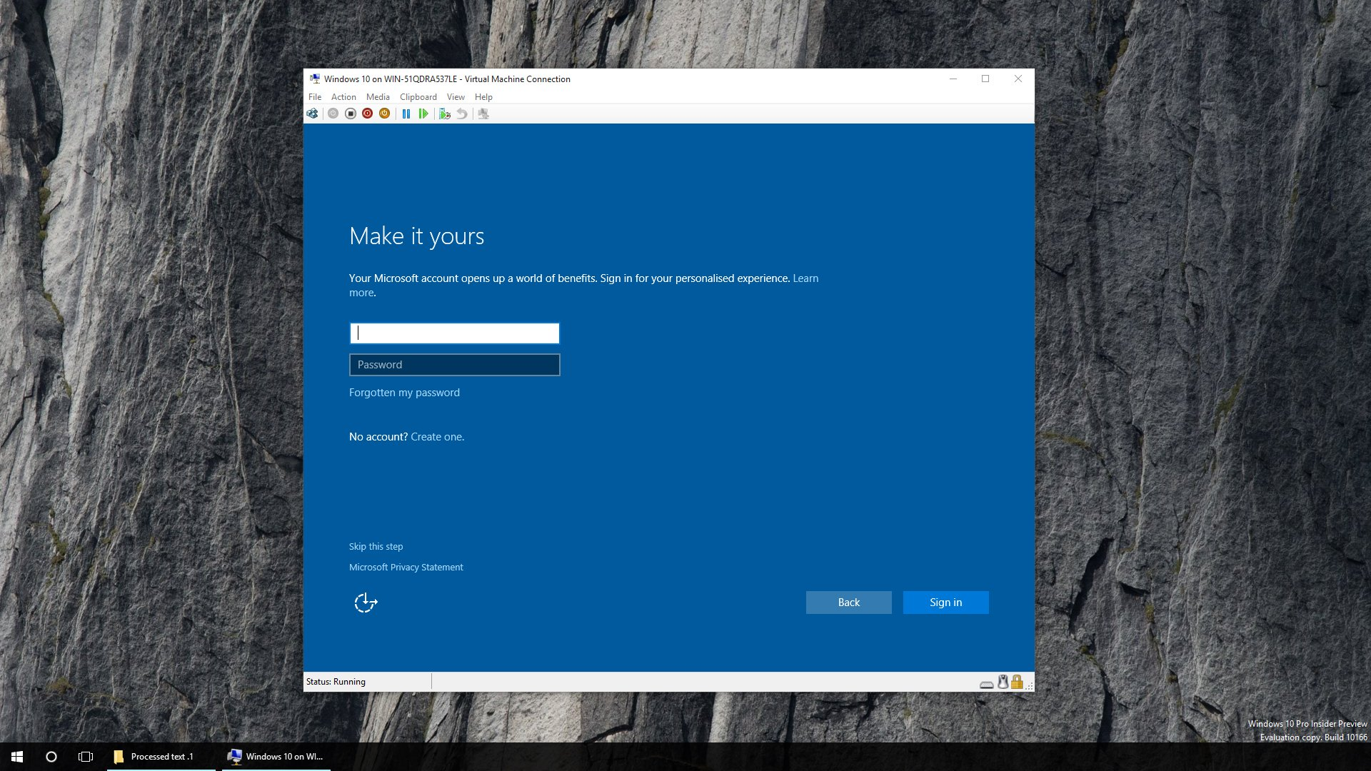 How to create a user in Windows