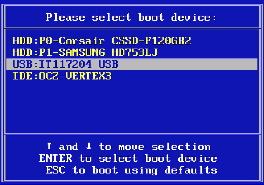 how to boot from usb or a different drive expert reviews windows 7 manually update root certificates windows 7 manual free download