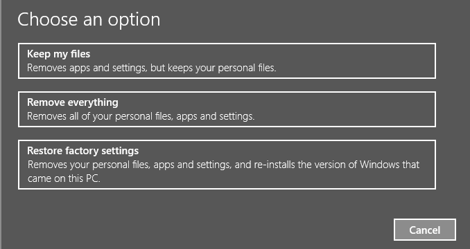 reset xbox one settings
