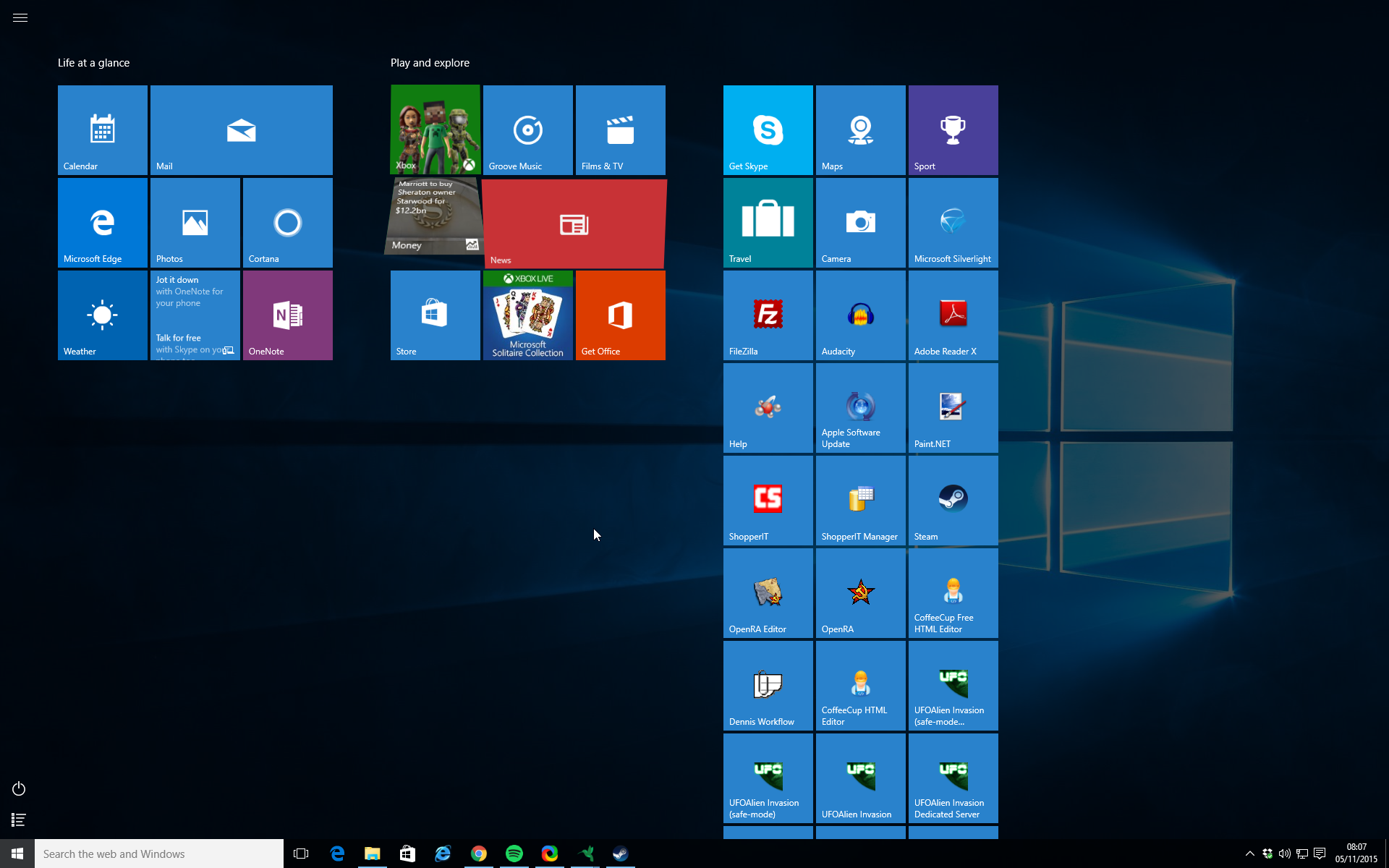 Down Sides To Windows 10 Full Screen Start Menu
