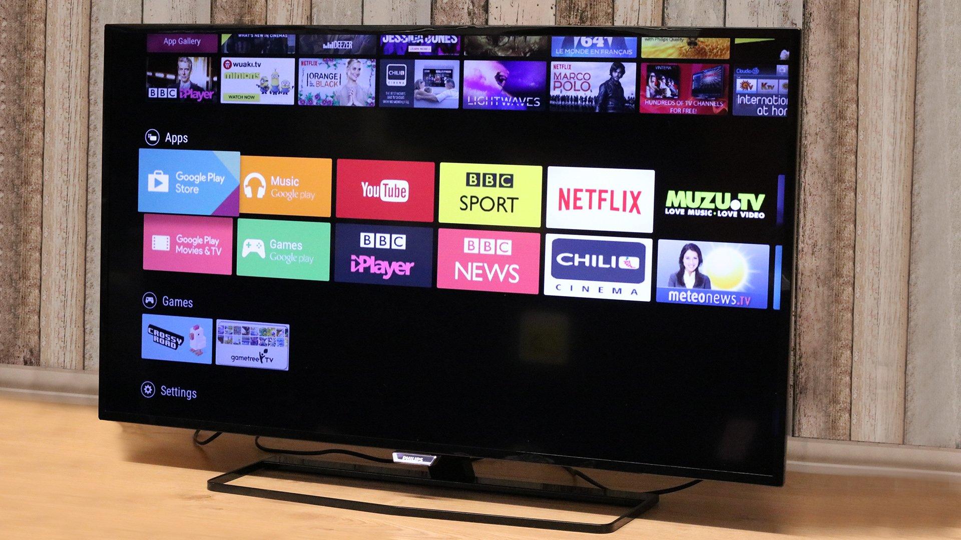 philips 6400 series 4k tv 40put6400 review expert reviews. Black Bedroom Furniture Sets. Home Design Ideas