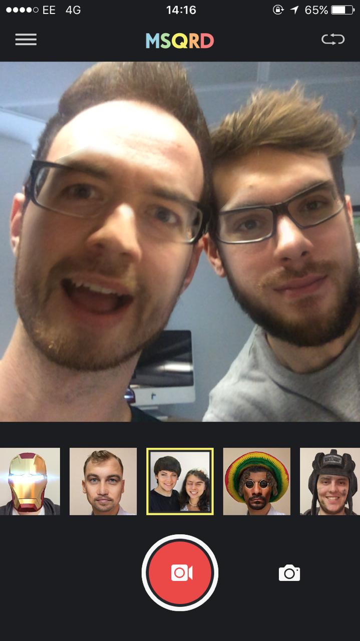 face swap app iphone