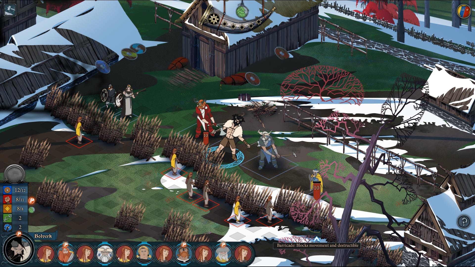 Resultado de imagen de the banner saga 2 rocks