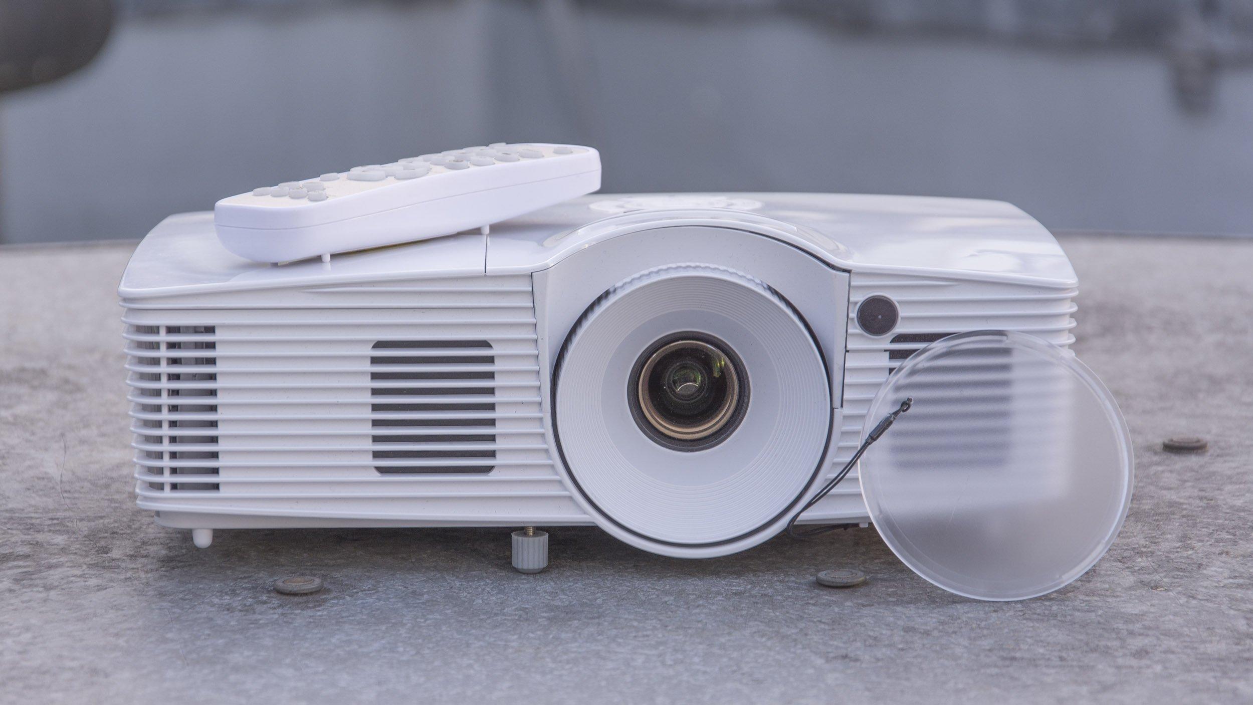 tv projektor test