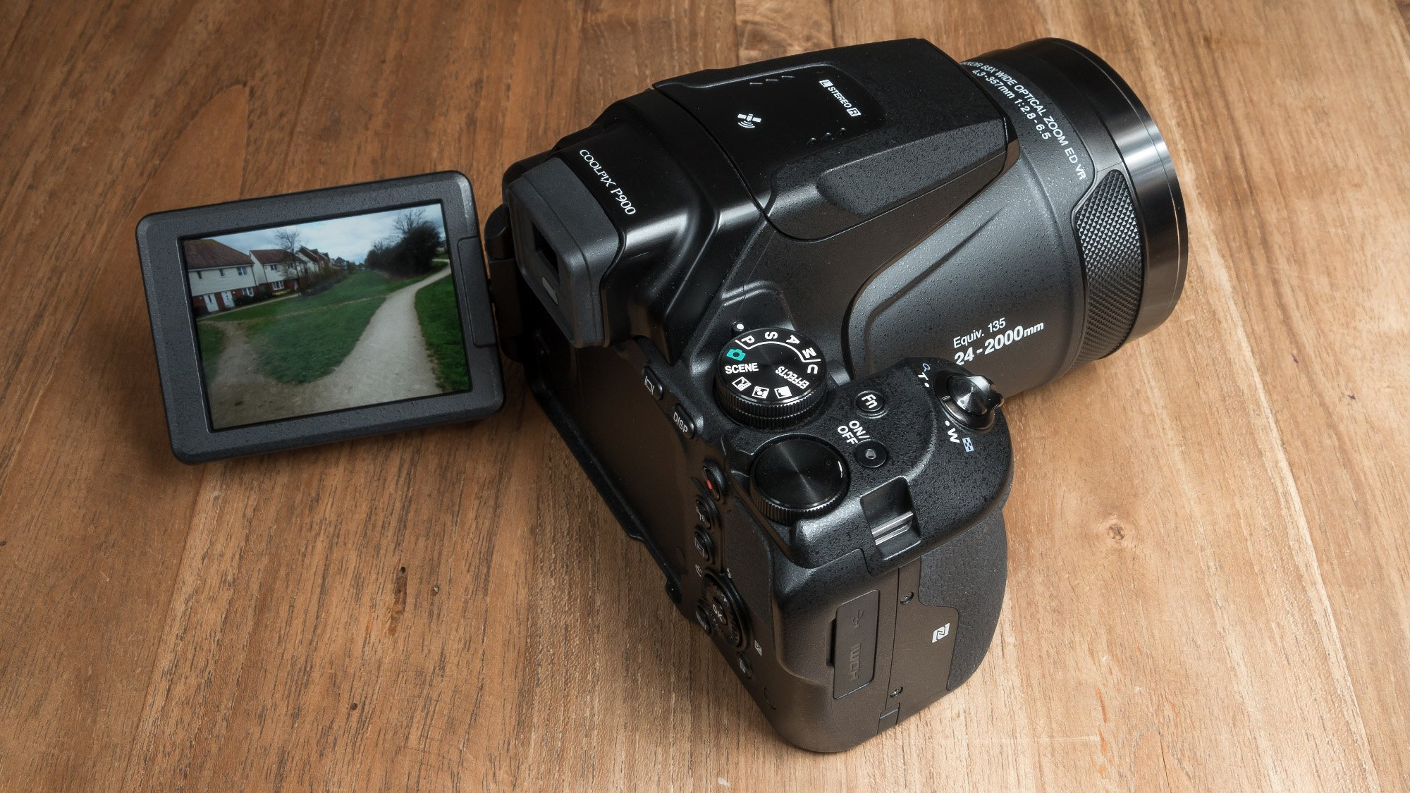 Nikon P900 Testi
