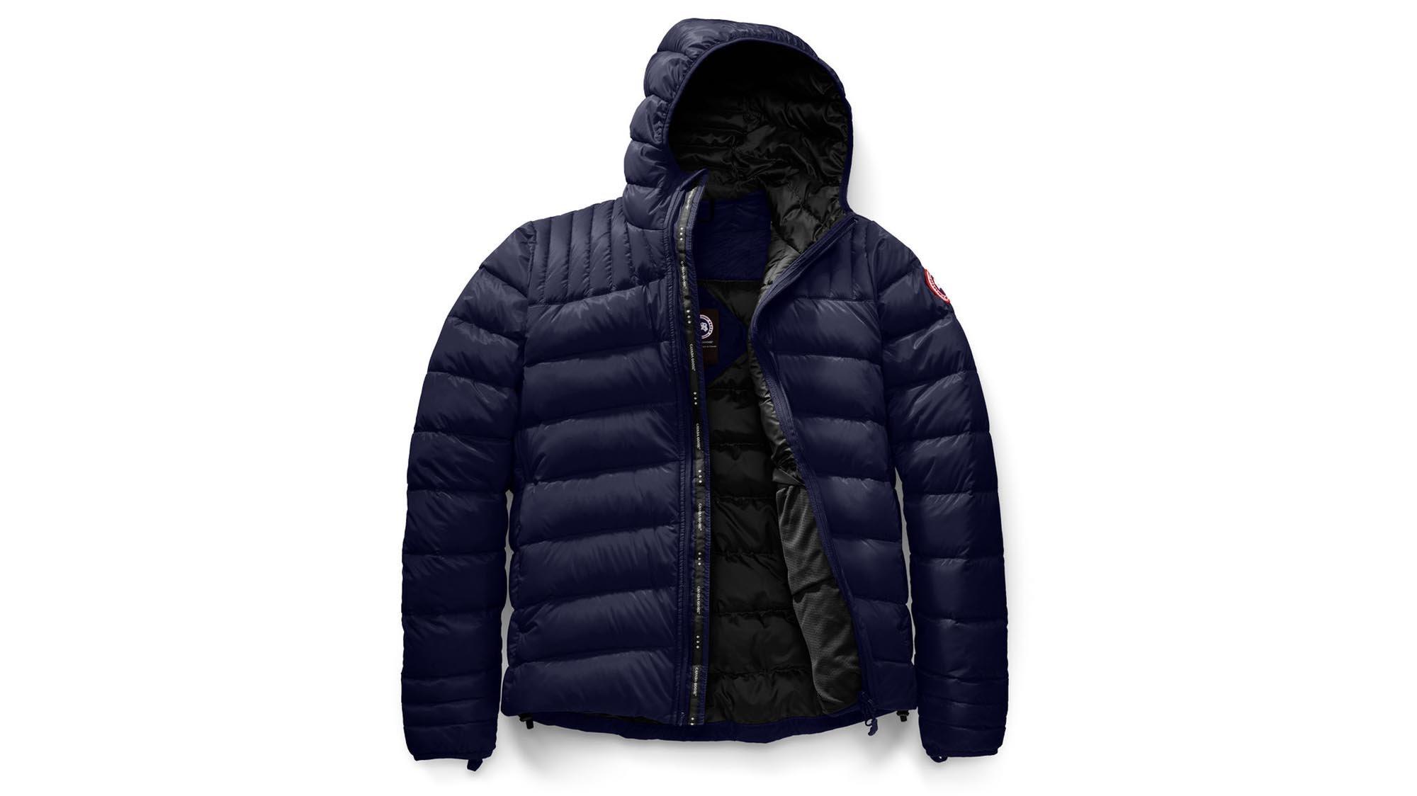 canada goose lightweight down jacket mens