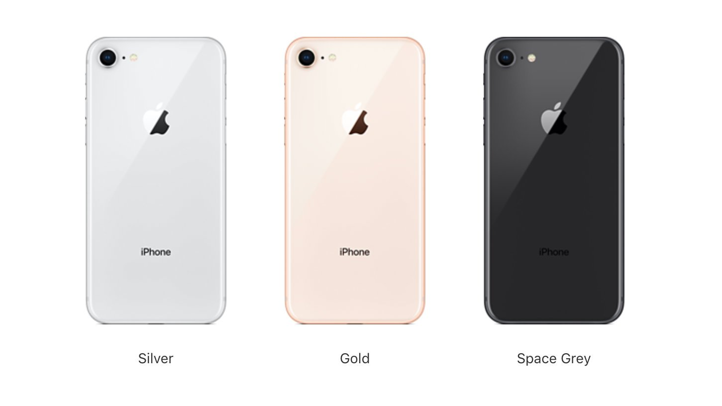 What Colors Does The Iphone S Come In