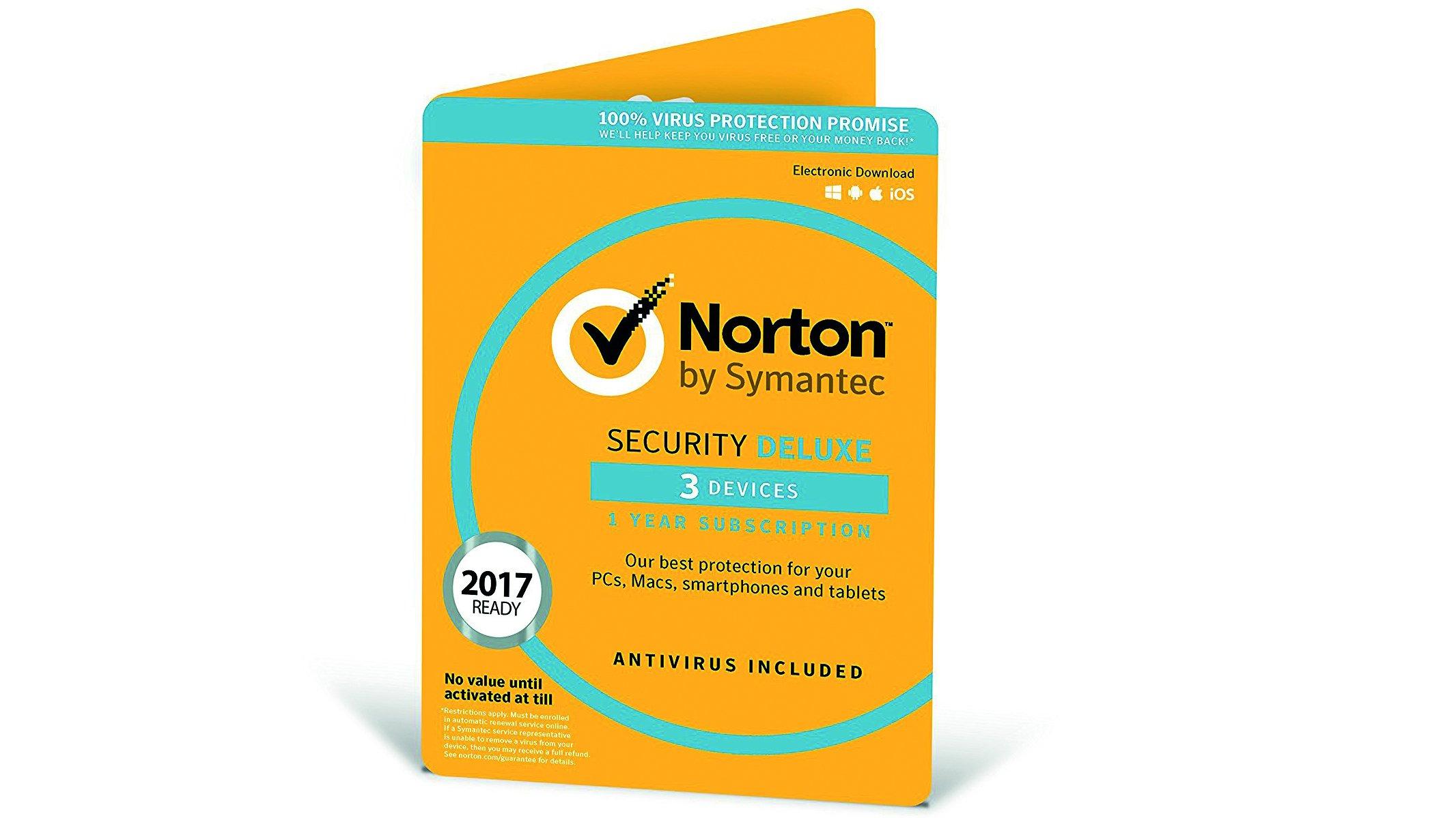 Symantec Norton Security Deluxe 2018 Review A Flexible