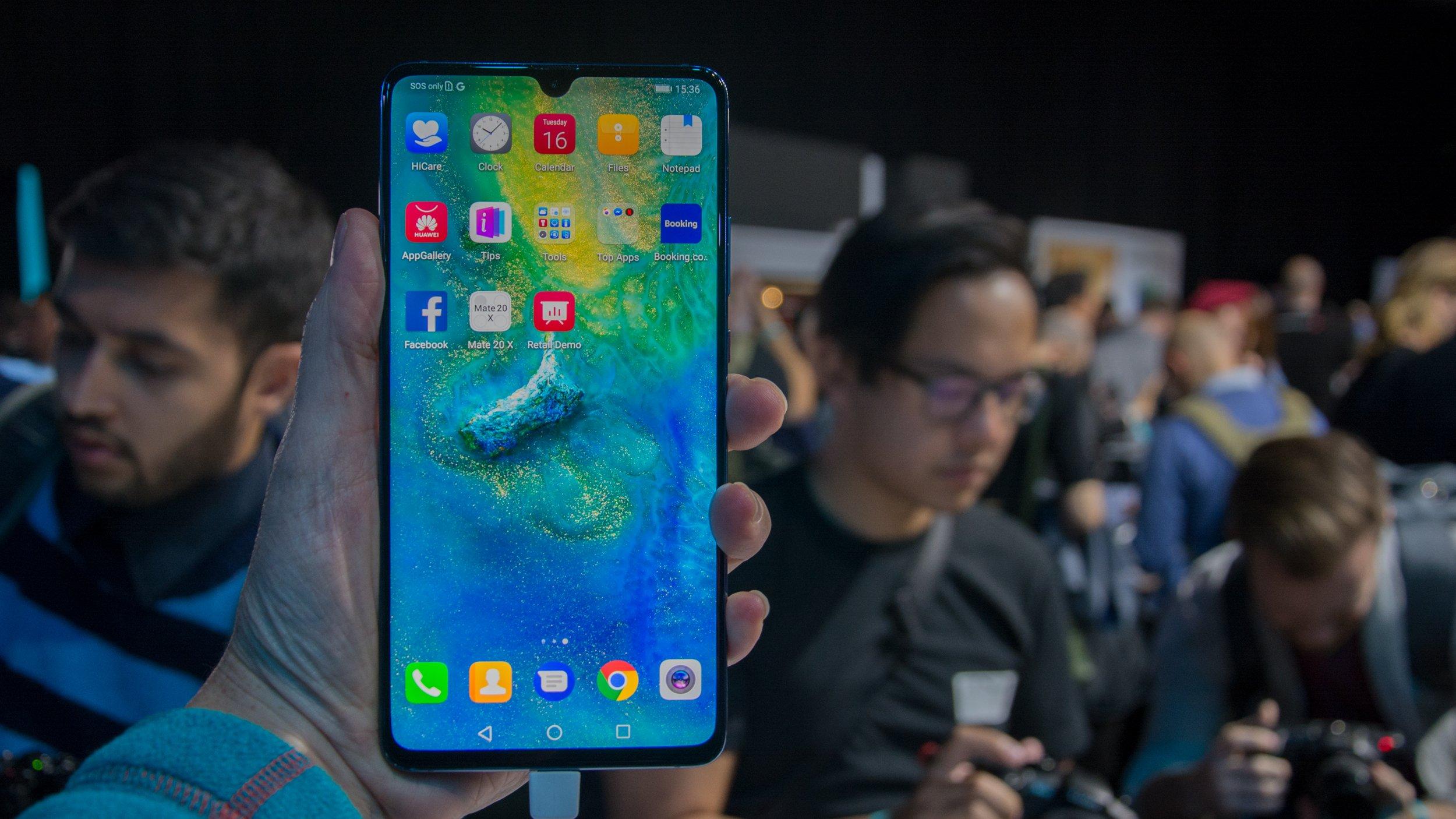 Huawei Mate 20 X Is Huawei S Biggest Phone Yet Expert