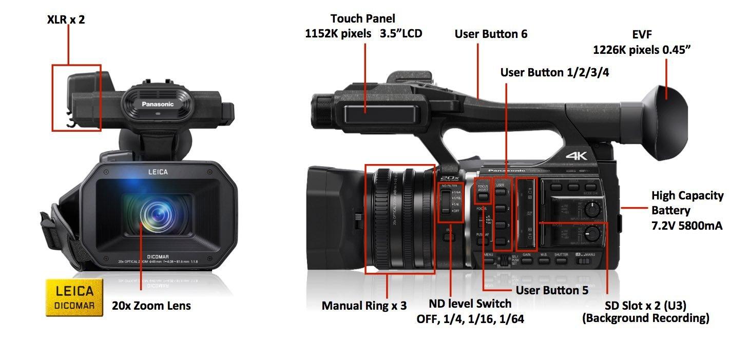 panasonic boosts 4k shooting with hc x1000 camcorder expert reviews rh expertreviews co uk panasonic m7 video camera manual panasonic 3ccd video camera manual