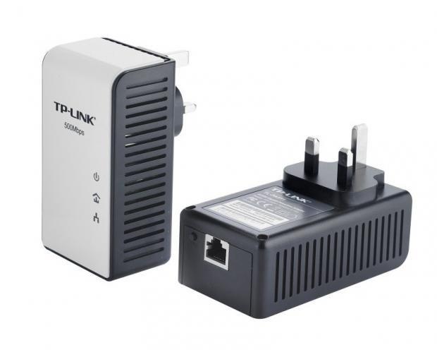 TP-Link AV500 Gigabit Powerline Adaptor Starter Kit