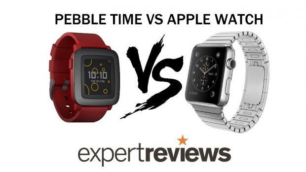 Apple Watch vs Pebble Time Steel