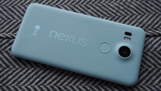 Nexus 5X back sideways