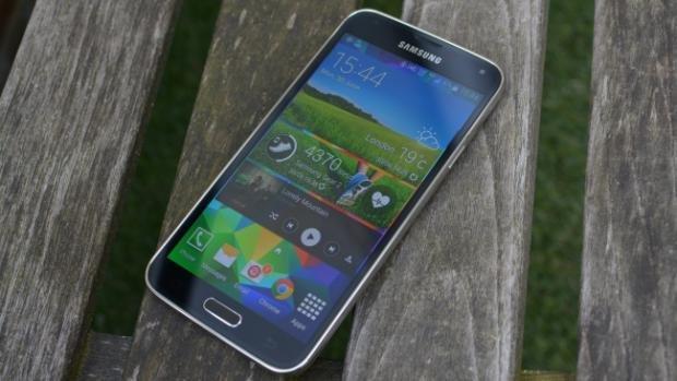 Galaxy S5 hero image