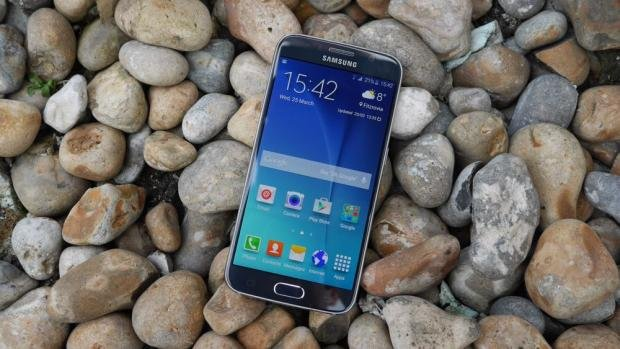 Samsung Galaxy S6 screen