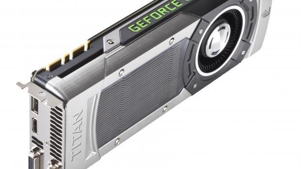 Nvidia GTX Titan 3/4 Top Shot