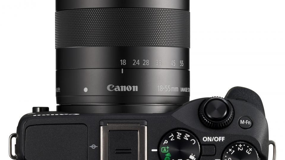 Canon EOS M3 top