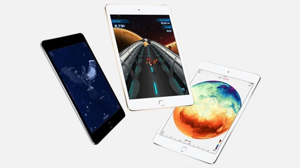 iPad Mini 4 colours