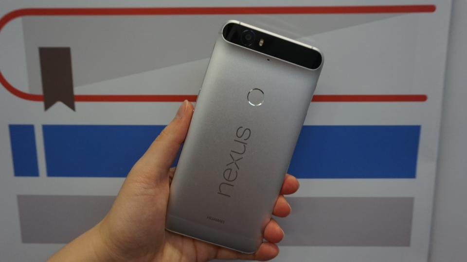 Nexus 6P hands on rear