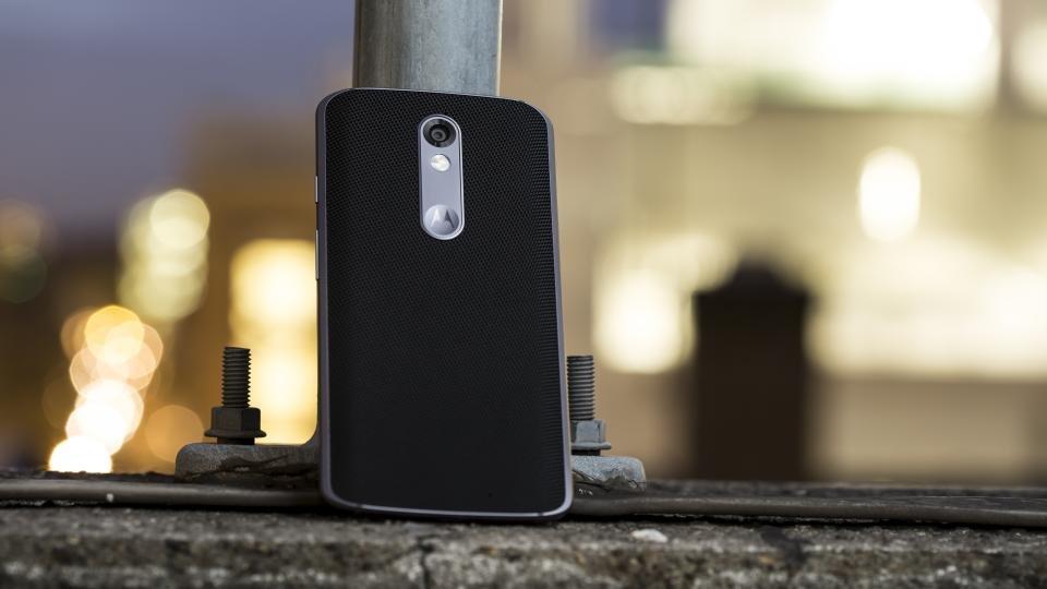 Motorola Moto X Force rear