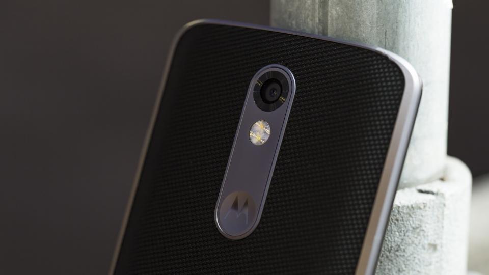 Motorola Moto X Force camera