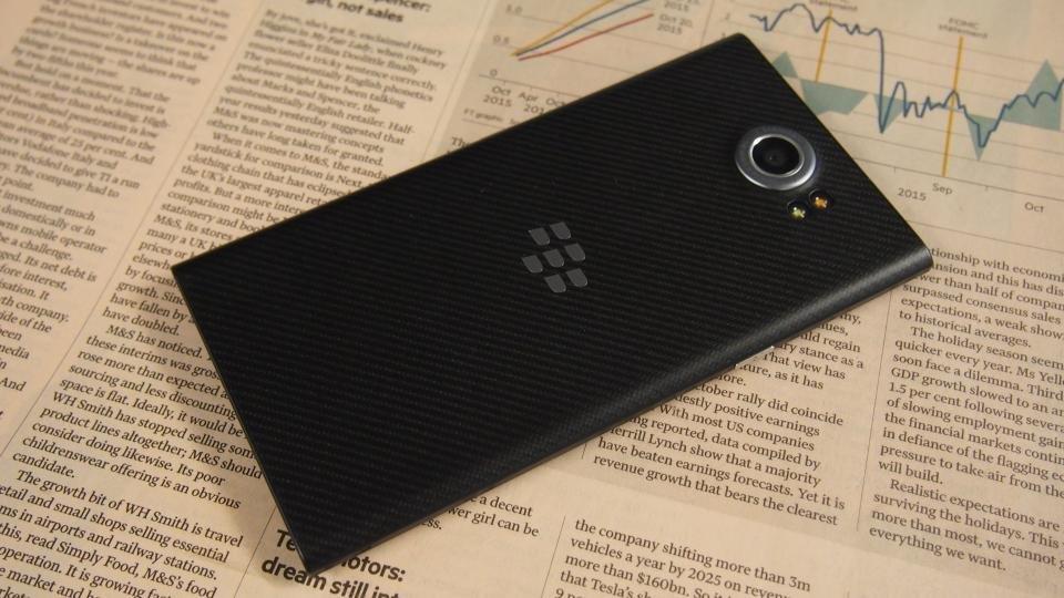 BlackBerry Priv rear