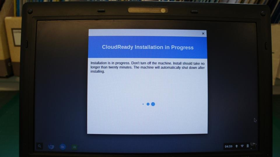how to turn laptop into chromebook