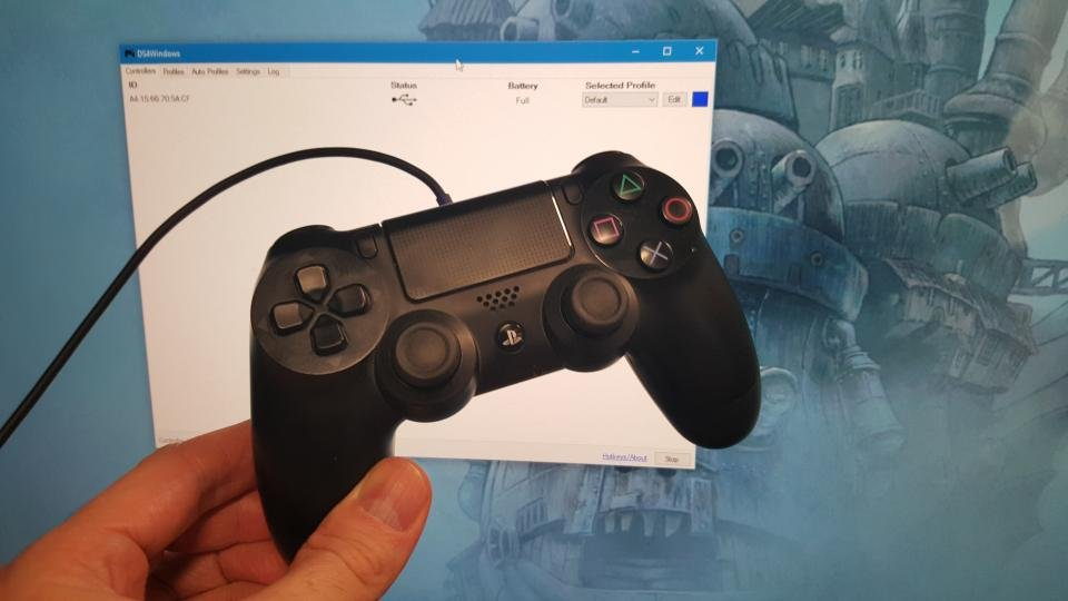 how to play ps4 controller on pc
