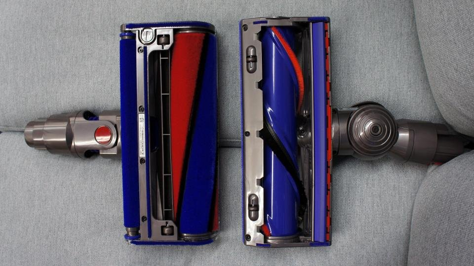 Dyson V8 Absolute heads