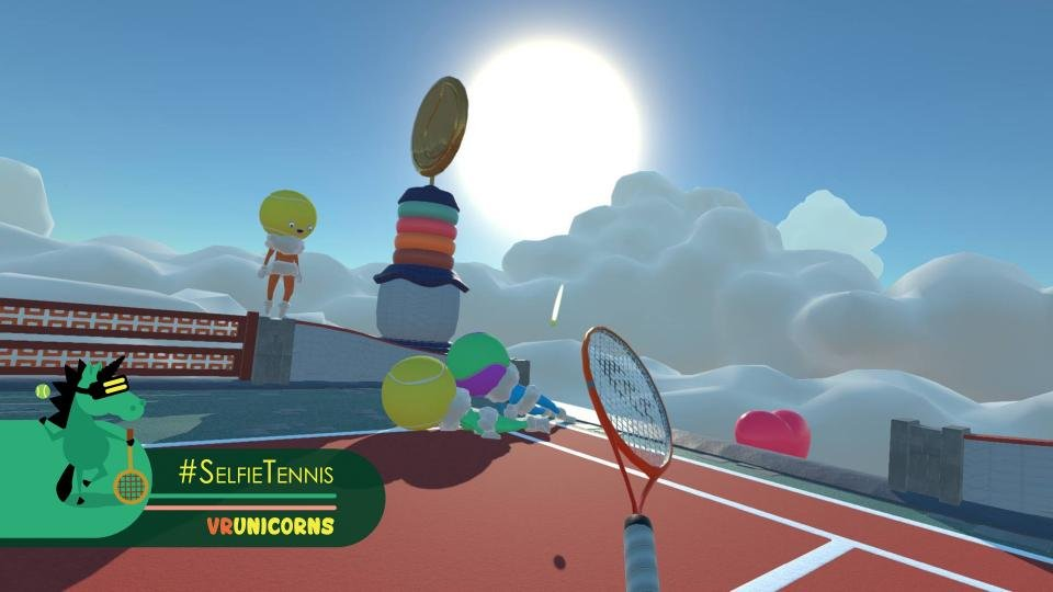 HTC Vive Selfie Tennis