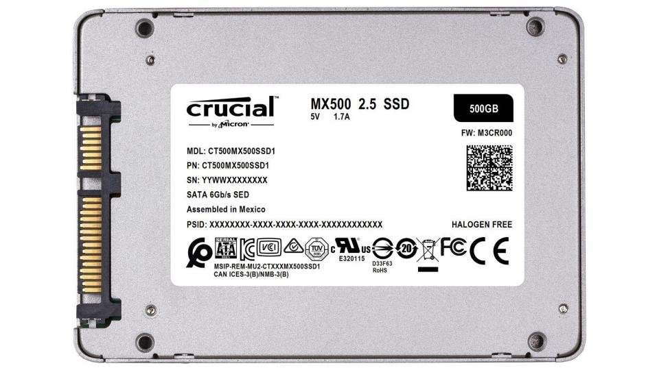 Crucial MX500 500GB review