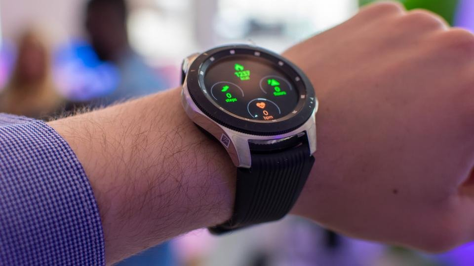 Samsung Galaxy Watch: Hands on with Samsung's most fully ...