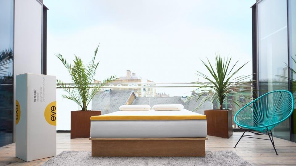 eve mattress topper review transform your hard mattress. Black Bedroom Furniture Sets. Home Design Ideas