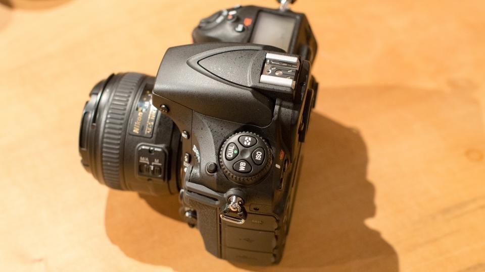 Nikon D810 control dial
