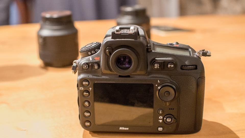 Nikon D810 screen