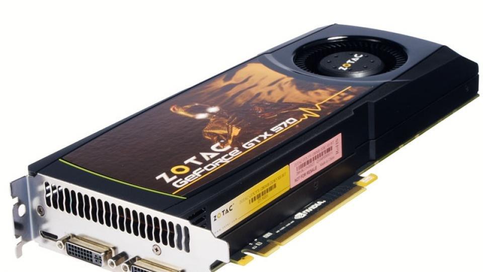 Nvidia GeForce GTX 570 a