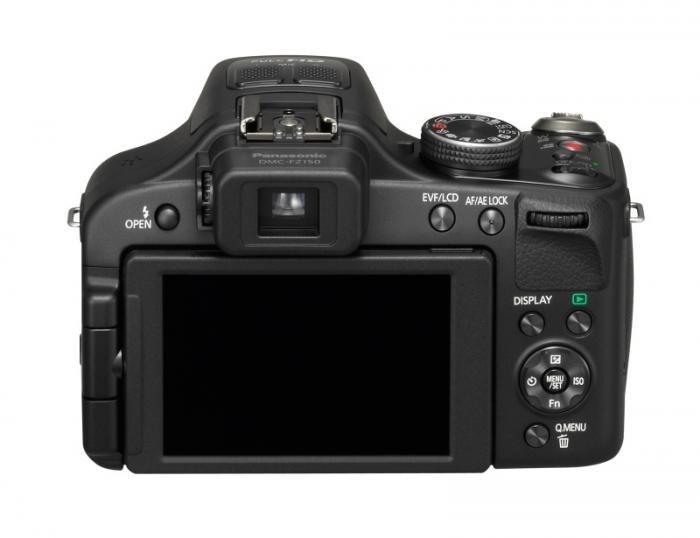 Panasonic Lumix DMC-FZ150 rear