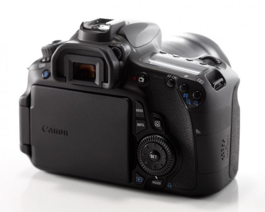 Canon EOS 60D back