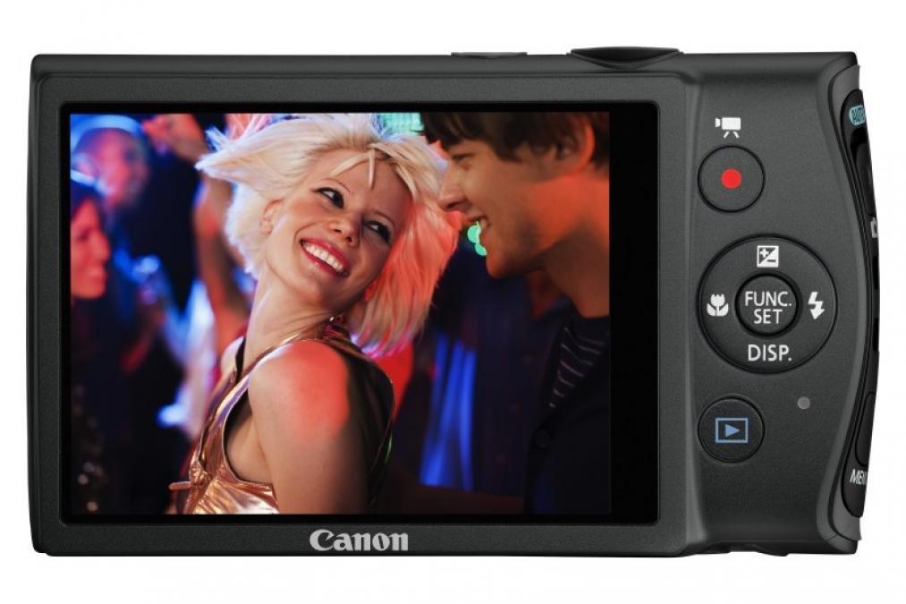 Canon Ixus 230 HS rear