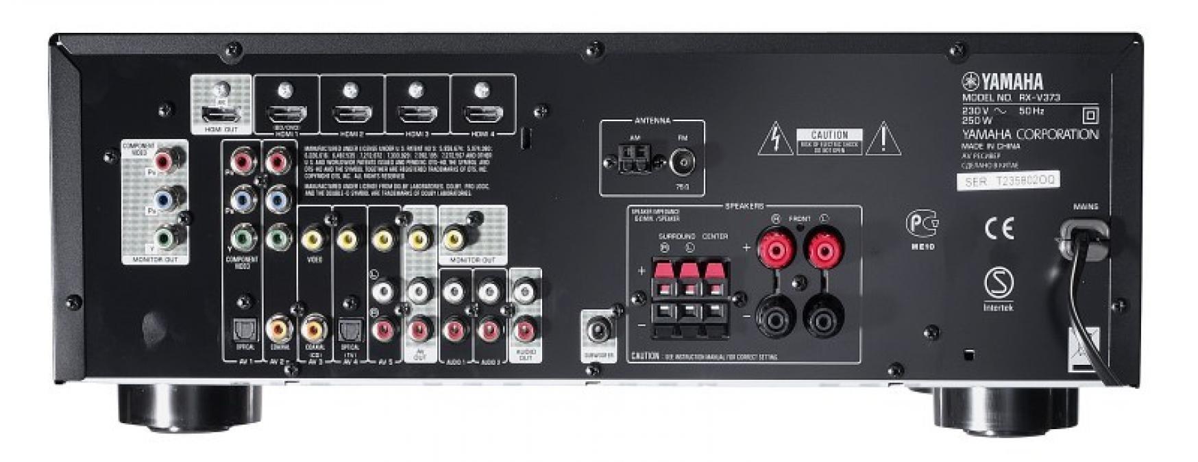 Yamaha Back Panel