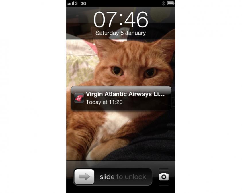iPhone 5 Passbook