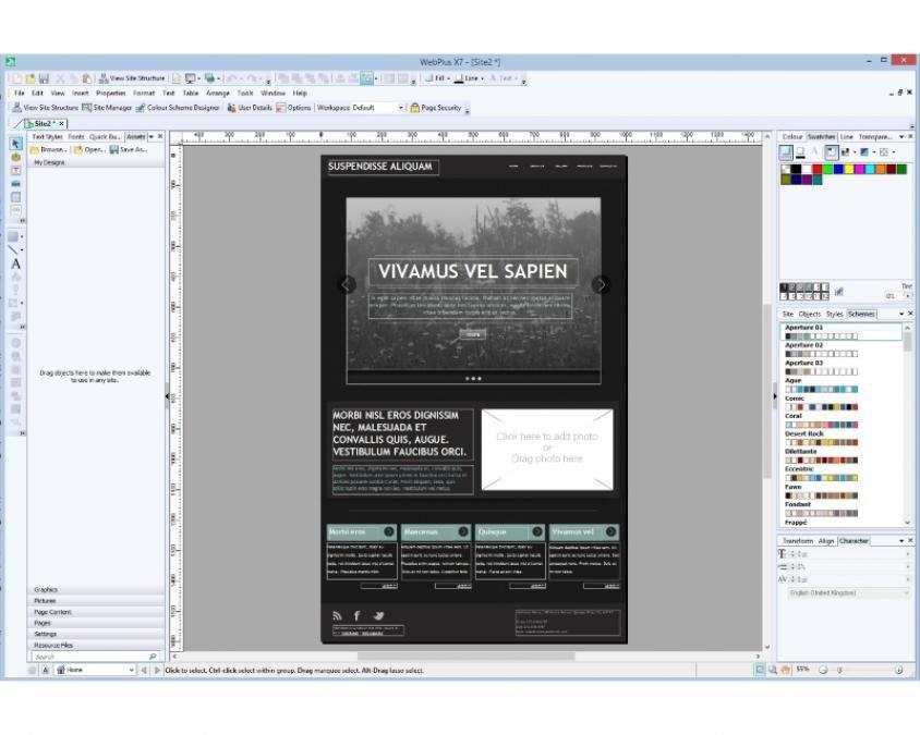 Serif WebPlus X7 review   2   Expert Reviews