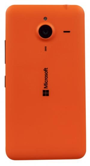 Microsoft Lumia 640 XL rear face on
