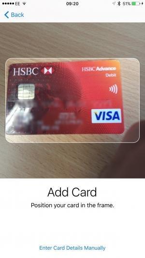 santander credit card payment details
