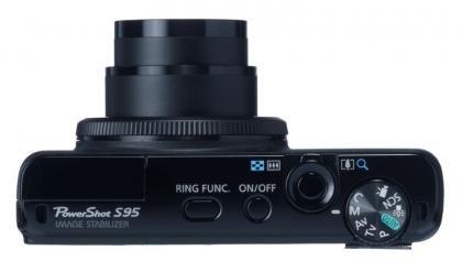 Canon Powershot S95 top