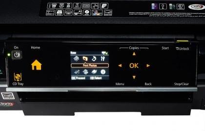 Epson Stylus Photo PX720WD controls