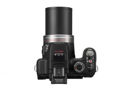 Panasonic Lumix DMC-FZ100 top